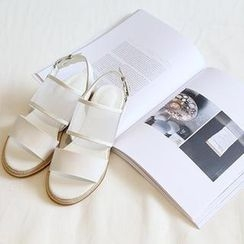 NANING9 - Mesh Strap Sandals