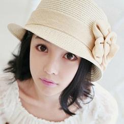Pompabee - 花朵草帽