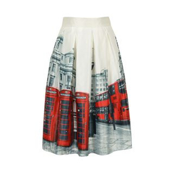 Flore - Printed Long Skirt