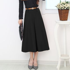 LITI - Midi A-Line Skirt