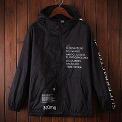 Bigboy - Letter Hooded Jacket