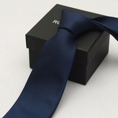 Romguest - Striped Neck Tie (8cm)