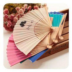 Momoi - Printed Hand Fan