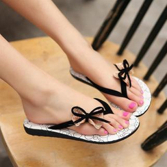 Pastel Pairs - Bow Flip-Flops