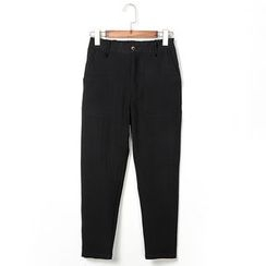 NAPO - Plain Cropped Pants