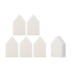 The Saem - Foundation Make Up Sponge (House) 6pcs