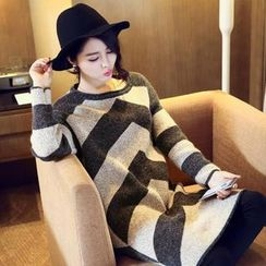 anzoveve - Two Tone Knit Dress