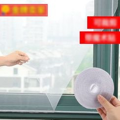 Homy Bazaar - Set: Window Screen + Velcro Tape