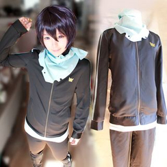 Ghost Cos Wigs - Noragami Yato Sportswear Cosplay Costume