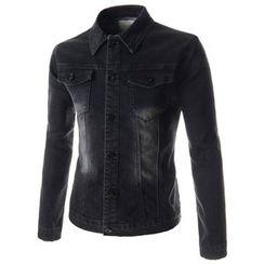 TheLees - Distressed Denim Jacket