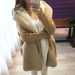 Hibisco - Hooded Long Cardigan