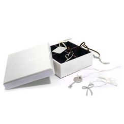 Kamsmak - Santa's Greeting Box Pendant Set (Heart, Key, Bnvelope & Bow)