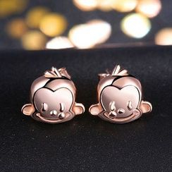 Zundiao - 925銀猴子耳釘