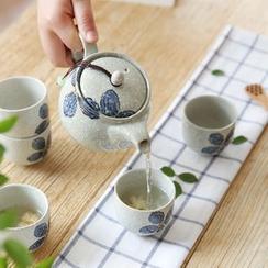 川岛屋 - 印花茶壶套装