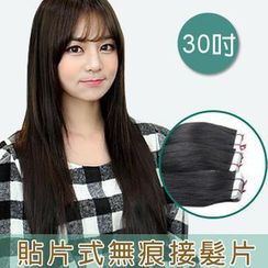 Clair Beauty - 30 Inch Clip-In Hair Extension - Straight (20 Pieces 1 Set)