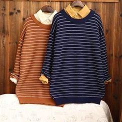 tete - 條紋毛衣