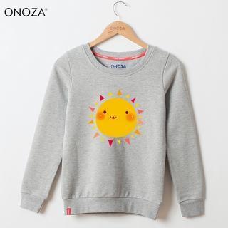 Onoza - Long-Sleeve Sun-Print Pullover