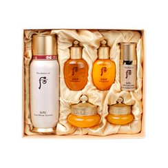 The History of Whoo - Bichup Soon Hwan Essence Special Set: Essence 85ml + Balancer 20ml + Lotion 20ml + Cream 10ml + Essence 8ml + Eye Cream 4ml