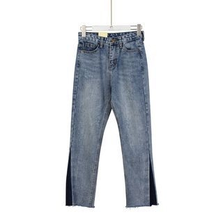 Momewear - Washed Straight-Leg Jeans