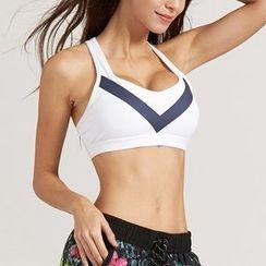 LUSHEY - 运动胸罩