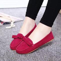 Sleeko - 蝴蝶结平跟鞋