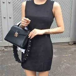 LIPHOP - Sleeveless Sheath Dress