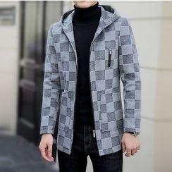Bay Go Mall - Check Jacket