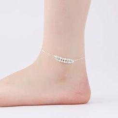 Persinette - Sterling Silver Anklet