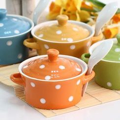 Retro Times - Dotted Bowl Set