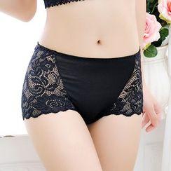 Croix - Lace Panel Panties