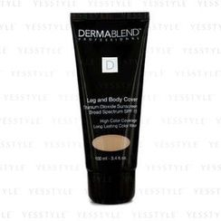 Dermablend - Leg and Body Cover Broad Spectrum SPF 15 (High Color Coverage and Long Lasting Color Wear) - Suntain