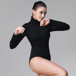 INNE - Turtleneck Long Sleeve Bodysuit Top