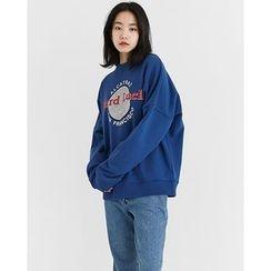 Someday, if - Printed Cotton Sweatshirt