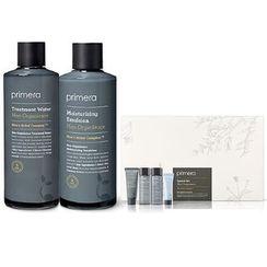 primera - Men Organience Special Set: Treatment Water 180ml + 25ml + Moisturizing Emulsion 150ml + 25ml + Purifying Cleanser 25ml + Watery Cream 10ml