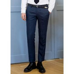 GERIO - Straight-Cut Dress Pants