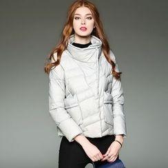 洛圖 - 立領拉鏈羽絨夾克