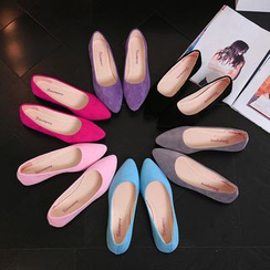AIKE - Plain Pointed Flats