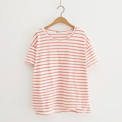 Piko - Stripe Short-Sleeve T-shirt