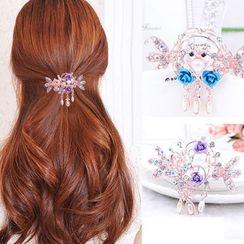 Aurabe - Rhinestone Hair Claw