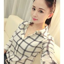 Fancy Show - Long-Sleeve Check Shirt
