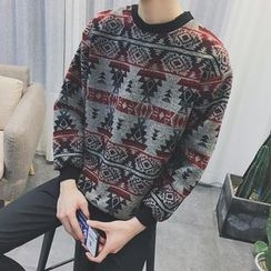 Soulcity - Patterned Sweatshirt