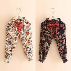 Seashells Kids - Kids Patterned Drawstring Pants