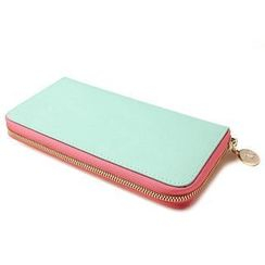 Princess Carousel - Genuine-Leather Zip Wallet