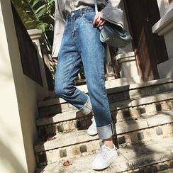 A7 SEVEN - Cuffed Jeans