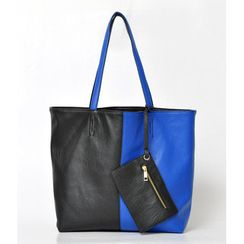 59 Seconds - Reversible Two-Tone Tote