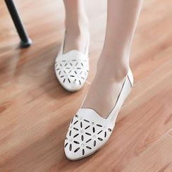 Pretty in Boots - Laser Cut Loafers
