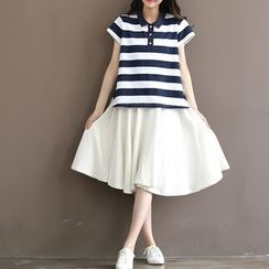 Fancy Show - Plain A-Line Skirt