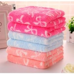 Showroom - Bow Print Hair Drying Towel