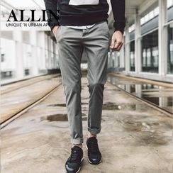 ALLIN - Straight Cut Chino Pants
