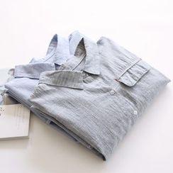 布丁坊 - 麻布襯衫